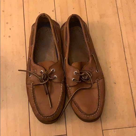 Sperry Other - Men's size 10.5 Brown leather Sperrys